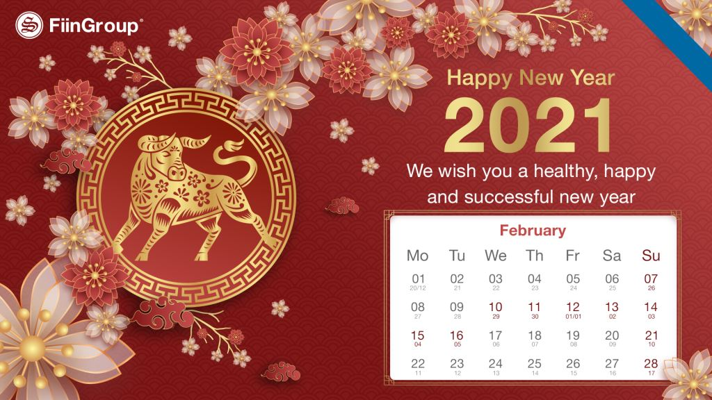 Announcement of Lunar New Year holiday 2021
