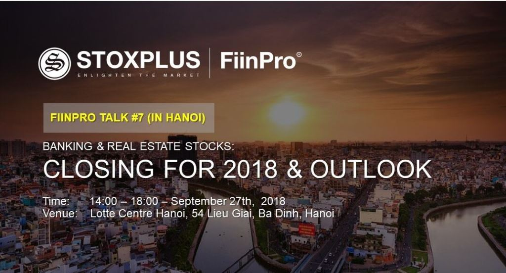 Outlook of EPS in banking and real estate sectors towards end 2018